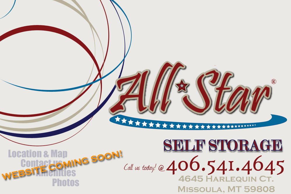 All Star Self Storage Missoula Affordable In Secure Units Climate Controlled Available